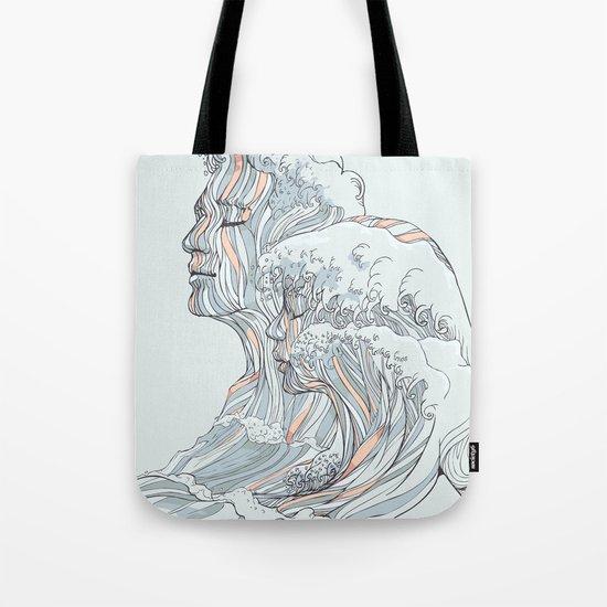 BREATHE DEEPLY Tote Bag