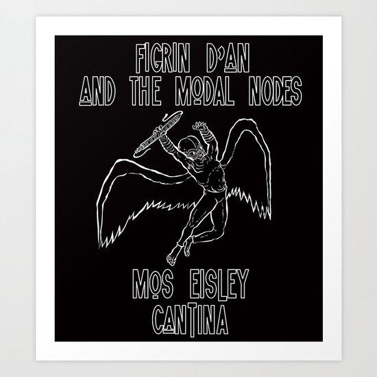 Star War to Heaven Art Print