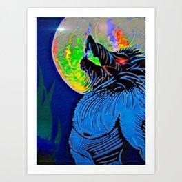 """Werewolf Moon"" Art Print"