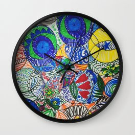 Draw Something For Fun Wall Clock