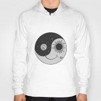 moonrise Hoodies featuring Moonrise by Daniac Design