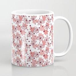 Abstract Marine Flowers and Beads Coffee Mug