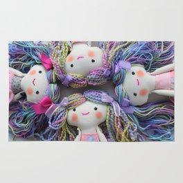 rainbow doll Rug