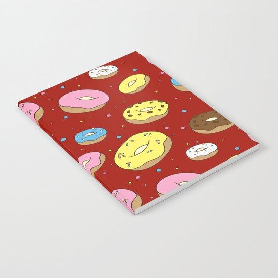 Cute Donuts Notebook