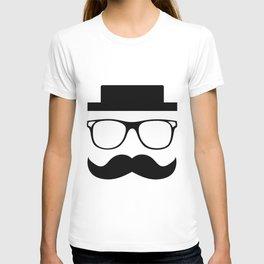 Hipster Mustache T-shirt