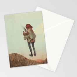 Overcoming Obstacles Stationery Cards