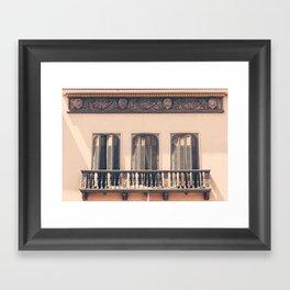 French Windows Framed Art Print