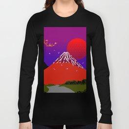 Dreams on Cherry Blossom Street Long Sleeve T-shirt