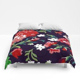 VAMPIRE WEEKEND FLORAL VECTOR Comforters