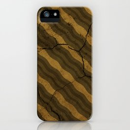 Vintage Fossil Bacon iPhone Case