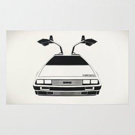 Delorean DMC 12 / Time machine / 1985 Rug