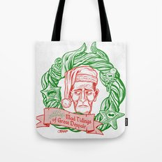 H.P. Lovecraft's Mad Tidings of Great Despair Tote Bag