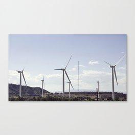 Spanish Fork Turbines Canvas Print