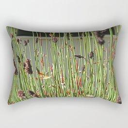 Reeds Rectangular Pillow
