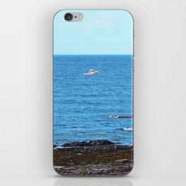 Little White Boat iPhone Skin