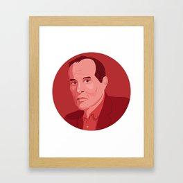Queer Portrait - Kenneth Anger Framed Art Print
