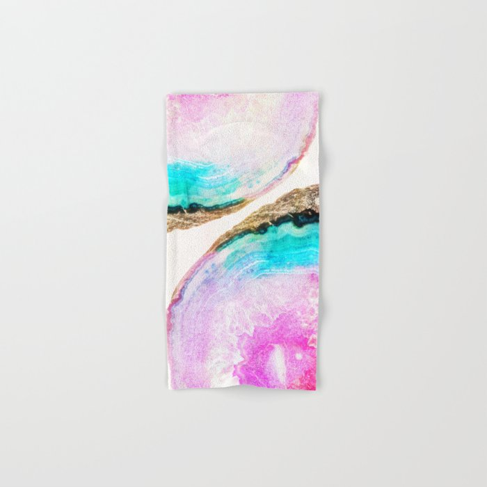 Agate Pattern #society6 #decor #buyart Hand & Bath Towel