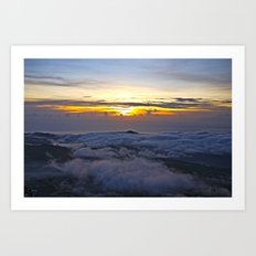 On top of the world Art Print
