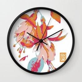 Amata Fucshia Wall Clock