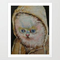 Eskimo Kitten Art Print