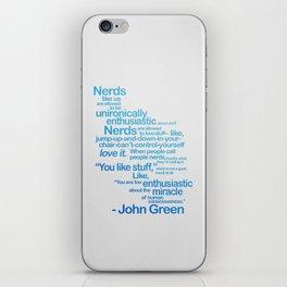 NERDS LIKE US iPhone Skin