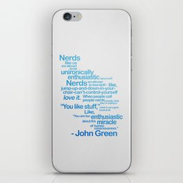 NERDS LIKE US iPhone Skin