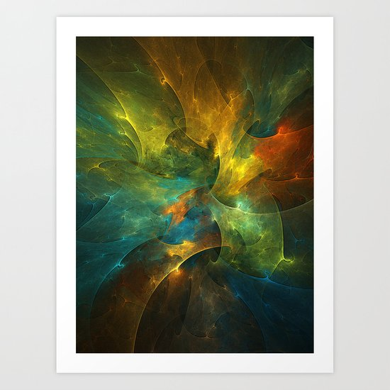Somewhere in the Universe Art Print