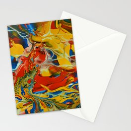 Color Explosion  2 Stationery Cards