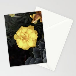 The Soft Yellow Flower (Vintage) Stationery Cards