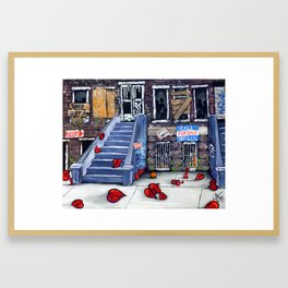 Broken Blvd Framed Art Print