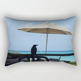 Bird Silhouette Rectangular Pillow