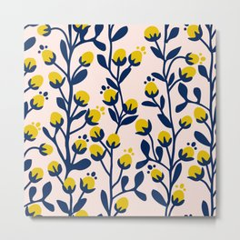 Garden Dreamer: flower buds Metal Print