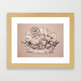 Catfood. Framed Art Print