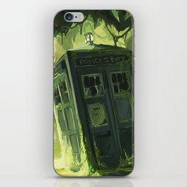 Tardis In The Swamp iPhone Skin