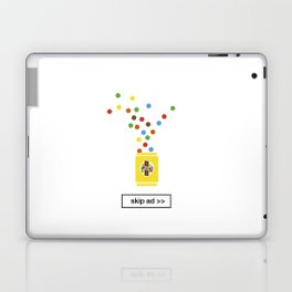 color chocolate ad Laptop & iPad Skin