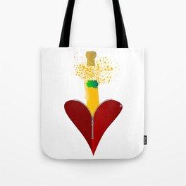 Love Champagne Tote Bag