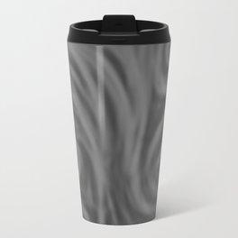 Dark Gray Swirl Travel Mug
