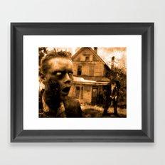 Post Mortem Boredom Framed Art Print