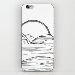 Neutral Susnset iPhone Skin