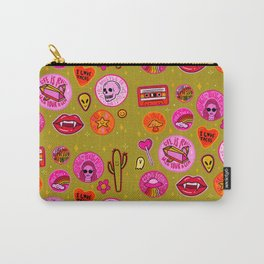 Patch Print Carry-All Pouch