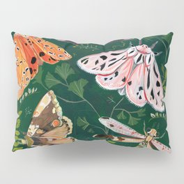 Moths and dragonfly Pillow Sham