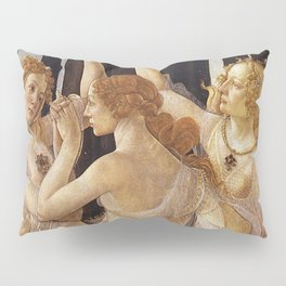La Primavera - The Three Graces - Sandro Botticelli Pillow Sham