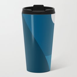 Geometric Landscape 08 Travel Mug