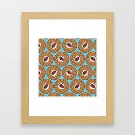 Waffle Waffle Framed Art Print