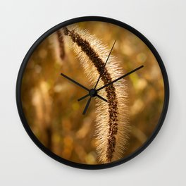 Lakeside Grass Wall Clock