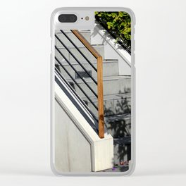 St-Air Conditioning Clear iPhone Case