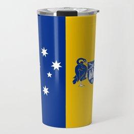 flag of canberra Travel Mug