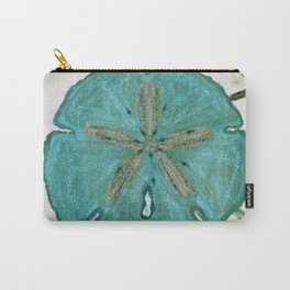 Sand Dollars Ocean Colors Carry-All Pouch