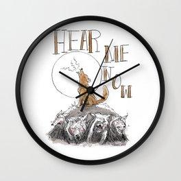 Hear me now? Wall Clock