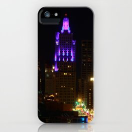 KC Night Skyline iPhone Case